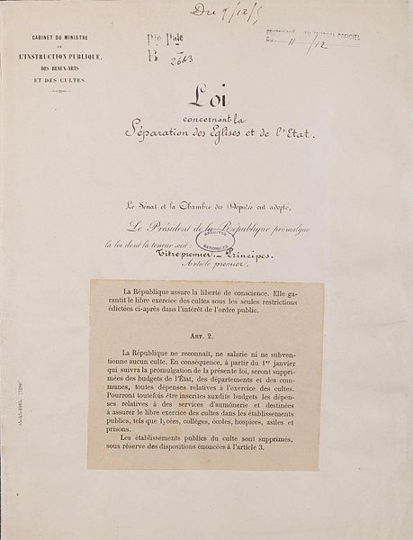 459px-loi_de_separation_des_eglises_et_de_letat-_page_1_-_archives_nationales_-_ae-ii-2991